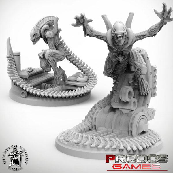 Alien Evolved Warriors UniCast