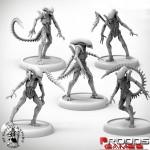Alien Infant Warriors