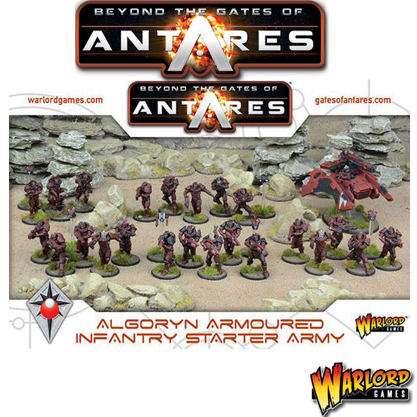 Algoryn Armoured Infantry Starter Army