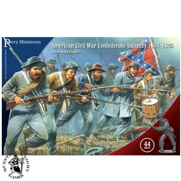 American Civil Confederate Infantry 1861-1865