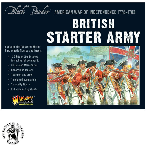 American War of Independence Starter Set British Army