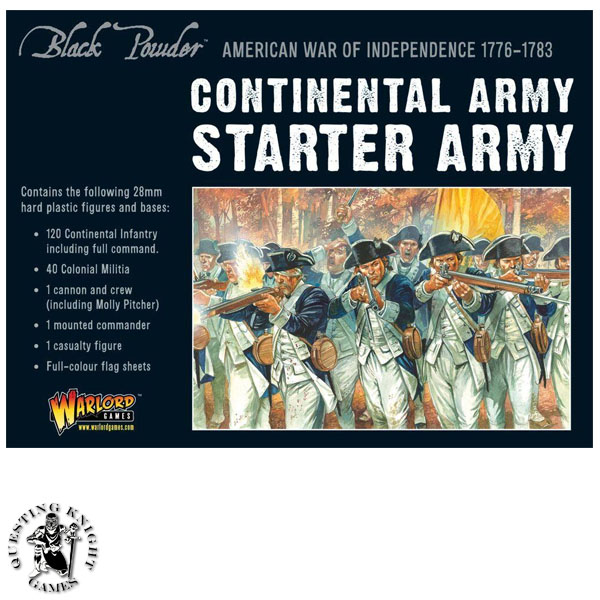 American War of Independence Starter Set Continental Army