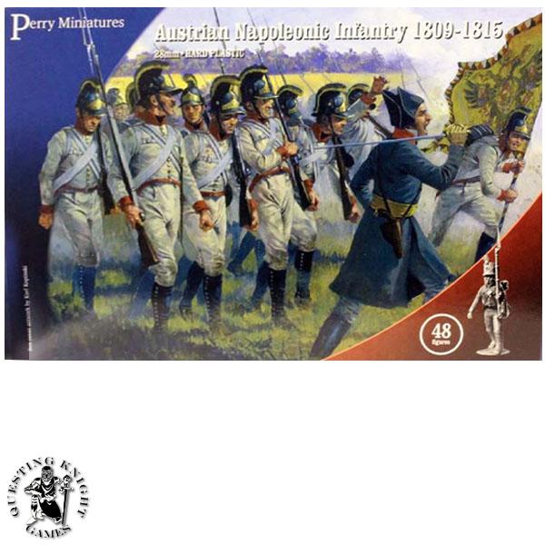 Napoleonic Wars Austrian Infantry 1809-1815