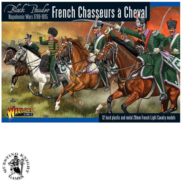 Napoleonic French Chasseurs a Cheval