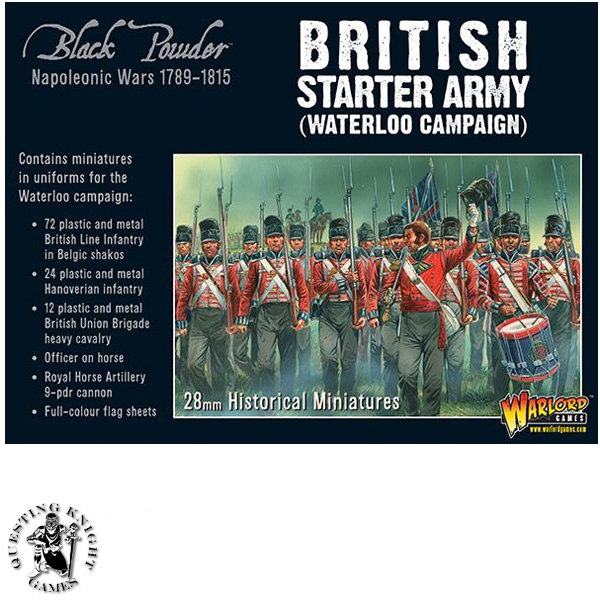 Napoleonic Starter Set Waterloo Campaign British army