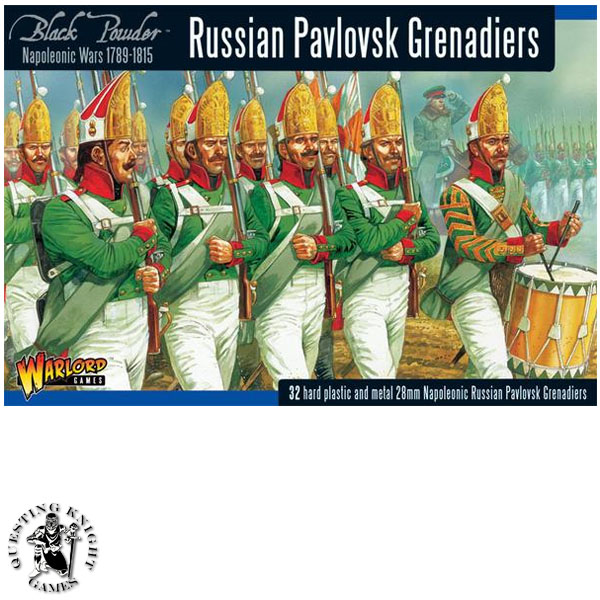 Napoleonic Russian Pavlovsk Grenadier Regiment 1789-1815