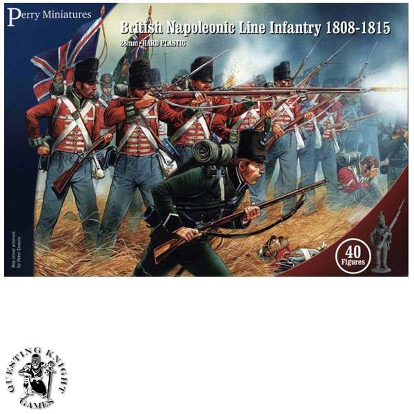 Napoleonic British Line Infantry 1808-1815
