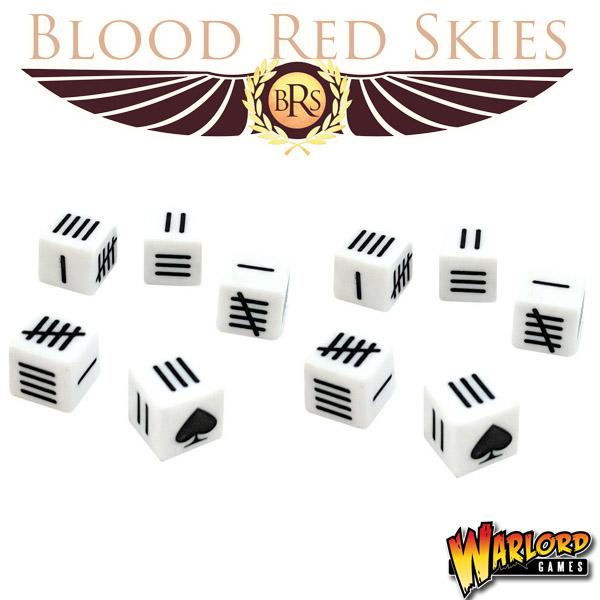 Blood Red Skies Game Dice
