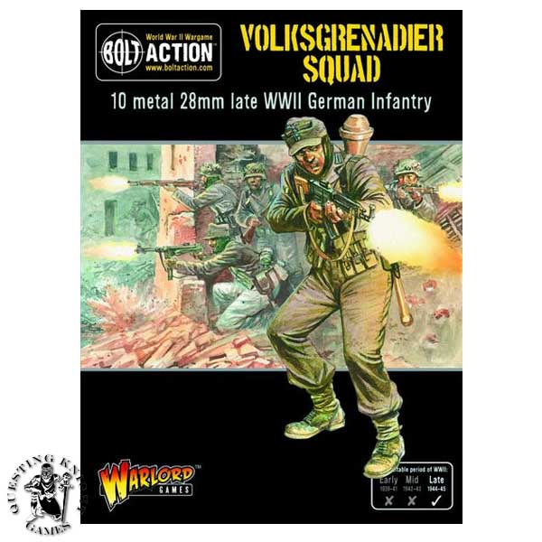 German Volksgrenadiers Squad