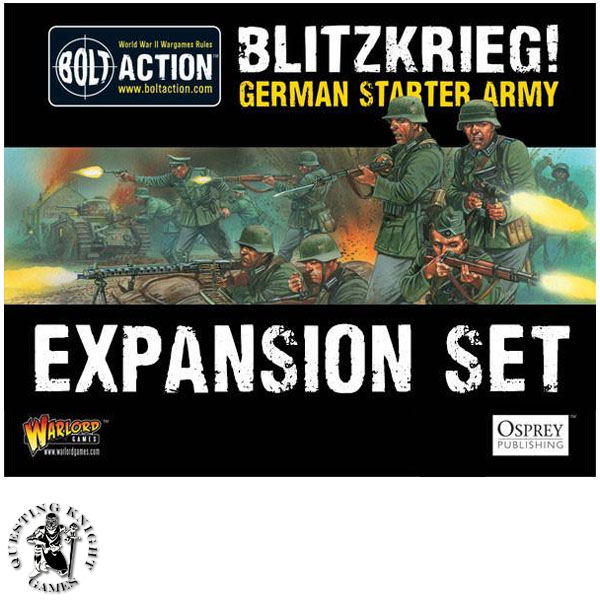 Starter Army: Blitzkrieg German Army Expansion Set