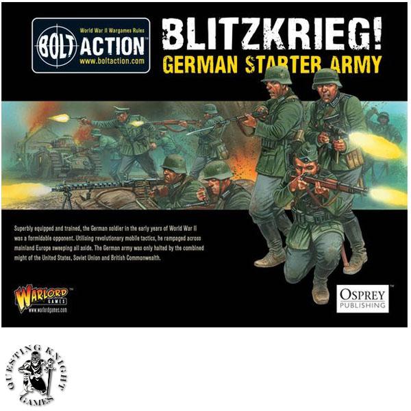 Starter Army: Blitzkrieg German Army 1000pts