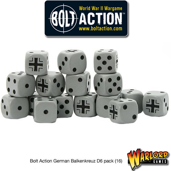 D6 Dice Pack - German Balkenkreuz
