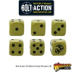 D6 Dice Pack - US Marine Corps