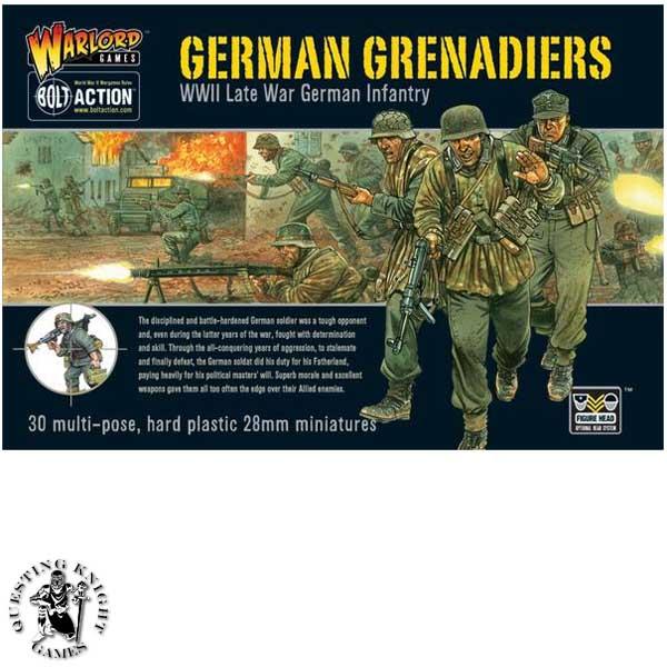 German Grenadiers plastic box set