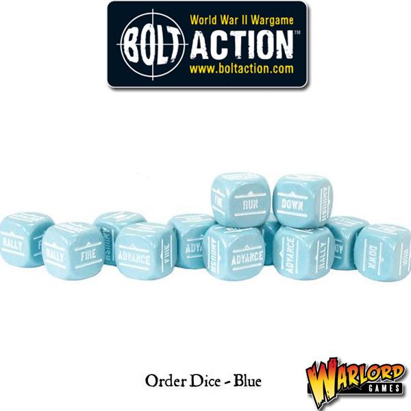 Order Dice pack - Blue