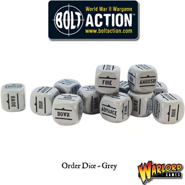Order Dice pack - Grey