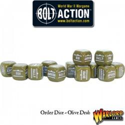 Order Dice pack - Olive Drab