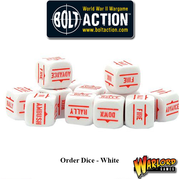 Order Dice pack - White