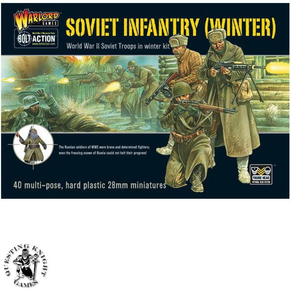 Soviet Infantry Winter plastic box set