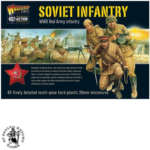 Soviet Infantry WW2 Red Army
