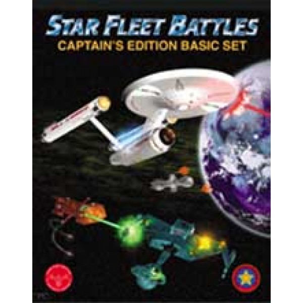 Star Fleet Battles  Captain's Edition Basic Set 4th Ed