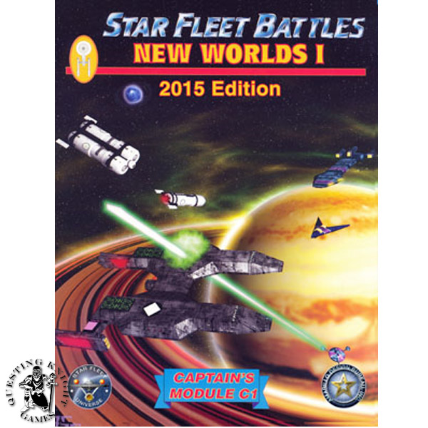 Star Fleet Battles Module C1: New Worlds I 2015 Edition