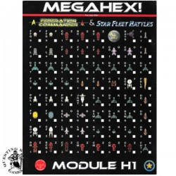 Star Fleet Battles Module H1: Megahex!