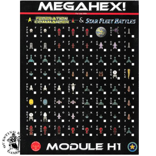 Star Fleet Battles Module H1: Megahex!